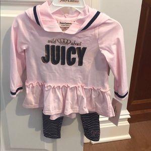 Juicy 2 piece set 12 months